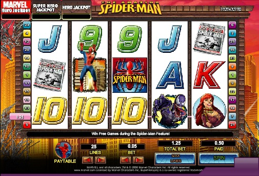 VIDEO SLOT SPIDER-MAN