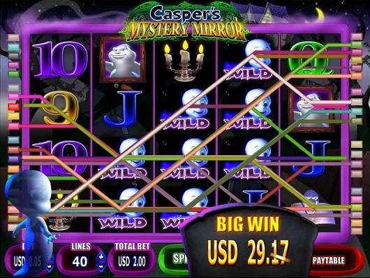 VIDEO SLOT Casper's MYSTERY MIRROR