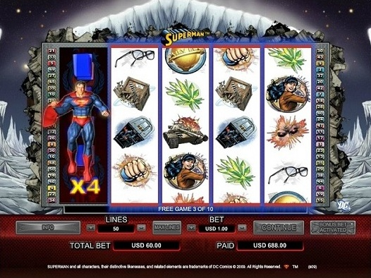 VIDEO SLOT SUPERMAN